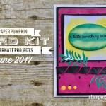 ONLINE CLASS & VIDEO: June 2017 Paper Pumpkin Kit, Alternate Project & Giveaway