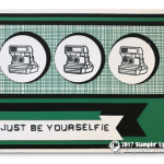CARD: Just be Your Selfie from the Pick a Pattern Suite & Labeler Alphabet