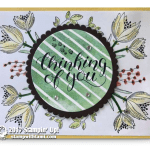 CARD: Thinking of You Card from the Count My Blessings Stamp Set – Part 2 of 2