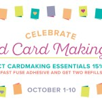15% OFF SALE for World Card Making Day – 10 days only ends October 10