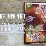 ONLINE CLASS & VIDEO: September 2017 Paper Pumpkin Kit, Alternate Card Set & Giveaway