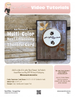 Multi-color embossing-stampwithtami-stampin up