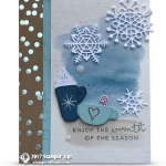 CARD: Enjoy the Warmth Card from the Hug in a Mug Stamps