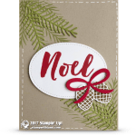 CARD: Noel from the Christmas Pines Stamps