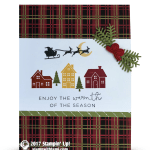 CARD: Warmth of the Season Card from the Hearts Come Home Bundle