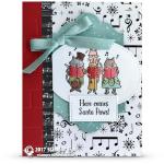 CARD: Here Comes Santa Paws right down Santa Paws lane