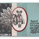CARD: The Mouse King Card from the Sugarplum Dreams Stamp Set