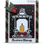 CARD: Christmas Blessings from the Seasonal Lantern Bundle