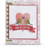 CARD: Sure Do Love You from the Bird Banter Set