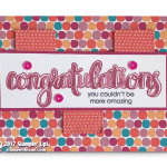 CARD: Congratulations You Couldn't Be More Amazing