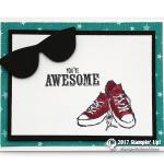 CARD: Awesome Sunglasses from SAB Epic Celebration Set