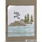 CARD: Love Never Gives Up from the Waterfront