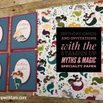 Myths & Magic Series Part 4: Set of Mermaid Birthday Wishes Cards