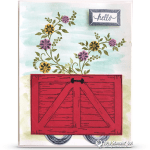 CARD: Adorable Wagon Card from Barn Door Bundle Series – Part 2