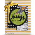 CARD: Hugs Friend Card from Bird Banter