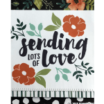 CARD: Sending Lots of Love Sympathy Card