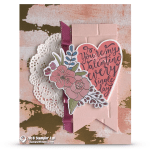 CARD:  You're My Valentine from the Sure Do Love You Stamps