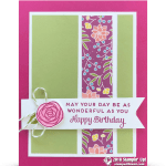 How to make a Centerfold Enclosure Card & Giveaway – Part 4 in Sweet Soiree Series