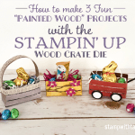 BLOG HOP & GIVEAWAY: 3 Fun Painted Wood Crate Box Projects for Easter or Anytime