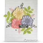 CARD: Beautiful Hello Friend Card