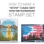 ONLINE CLASS: How to create a Waterfront Wow Card Set – Part 2 in my Waterfront Series