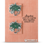 SNEAK PEEK: Anywhere with You Card from Sitting Pretty Stamp Set