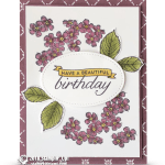 RETIRING: A Beautiful Birthday from Birthday Blooms Stamps