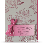 RETIRING: Happiest of Birthdays to You from Birthday Blooms Stamps