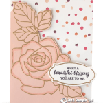 RETIRING: Beautiful Blessing from Rose Wonder Stamps