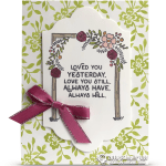 RETIRING: Always Have, Always Will Card from Love You Still Stamps