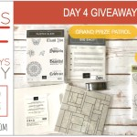DAY 4 of 8 Days of Giveaways in May – 2 prizes a day, entry and details here