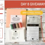 DAY 8 of 8 Days of Giveaways in May – 2 prizes a day, entry and details here