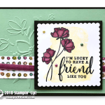 CARD: Lucky Friend Card from Share What You Love Series Part 4