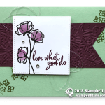 CARD: Love What You Do Card from Share What You Love Series Part 5