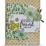 CARD: I'm Lucky Friend Card from my Share What You Love Series Part 2