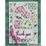CARD: Thank You Card from my Share What You Love Series Part 7