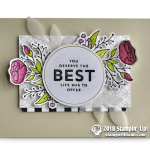 CARD:  You Deserve the Best from the Lots of Happy Card Kit