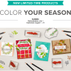 SPECIAL: Color Your Season Limited Edition Products – Pre-Order now