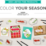 VIDEO CLASS: Color Your Season Limited Edition Products Available thru August 31