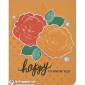 CARD: Happy to know you from the Healing Hugs Stamps