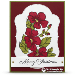 CARD: Blended Season Merry Christmas Card – Part 3