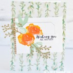 CARD: Wishing You the Best from the Frosted Floral Bundle
