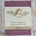 CARD: Christmas is the Perfect Time from Angels on Earth