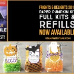 NEWS: Frights & Delights Paper Pumpkin Kits & Refills are available while supplies last