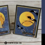 BLOG HOP & GIVEAWAY: How to make a set of Spooky Still Night Googly Eye Cards