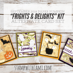 ONLINE CLASS & VIDEO: September 2018 Paper Pumpkin Kit, Alternate Card Set & Giveaway