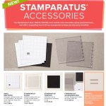 NEWS: New Accessories are available for the Stamparatus