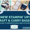 NEWS: 2 New Stampin' Up! Craft & Carry Bags