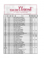Year End Closeout-US