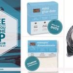 FREE ADHESIVE PACK: Join my VIP Online Stamp Club – ends December 31